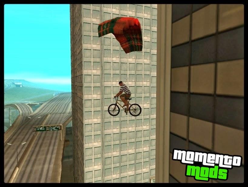 GTA SA - Mod Paraquedas Para Motos e Bicicleta V1