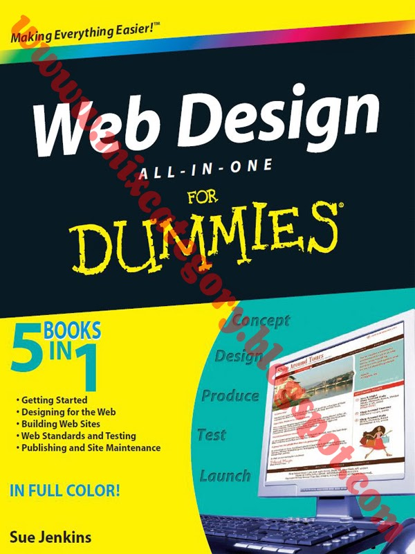 website design for dummies free download