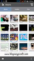 Open folder in gallery