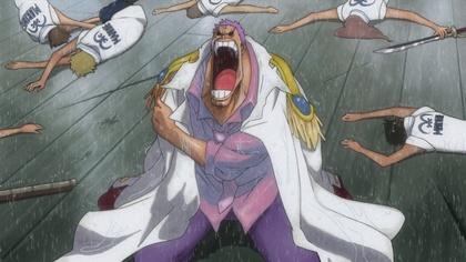 เซ็ตโต้สูญเสียแขนขวาและทหารเรือฝึกหัด @ One Piece