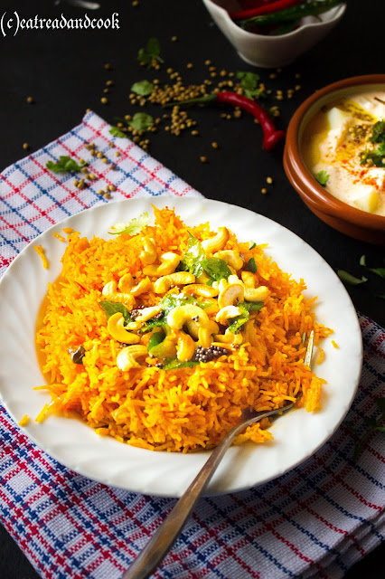 How to cook kerala style tomato rice