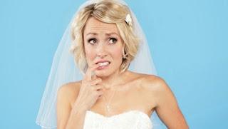 تفاصيل ينساها العروسان عند التحضير للزفاف  - عروسة تتذكر تنسى خائفة -terrified bride afraid