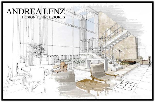 fotos de decoracao de interiores residenciais:Casa com Moda : ANDREA LENZ – DESIGN DE INTERIORES