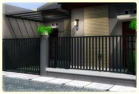 gambar pagar rumah terbaru