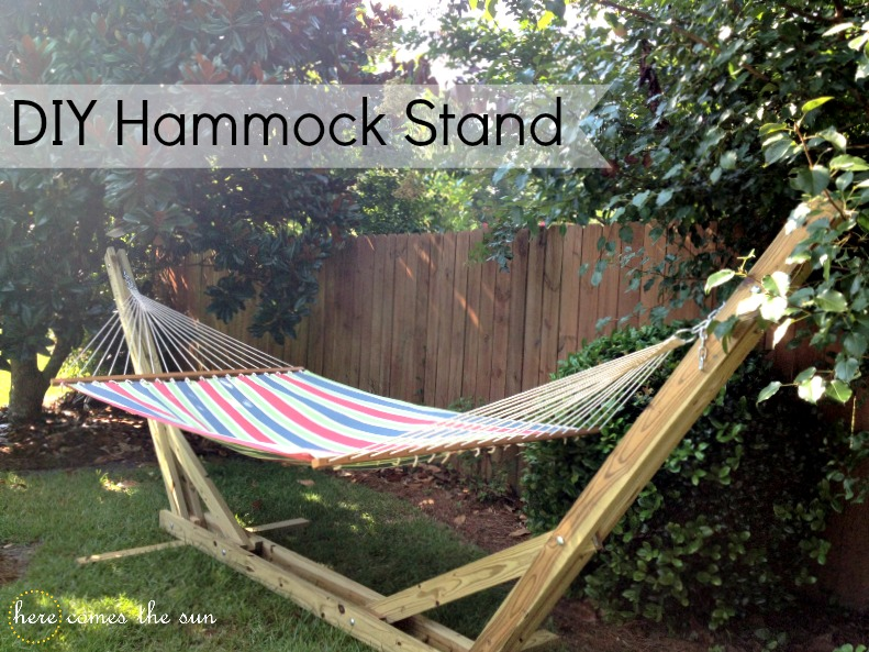 Amazing World DIY Hammock Stand