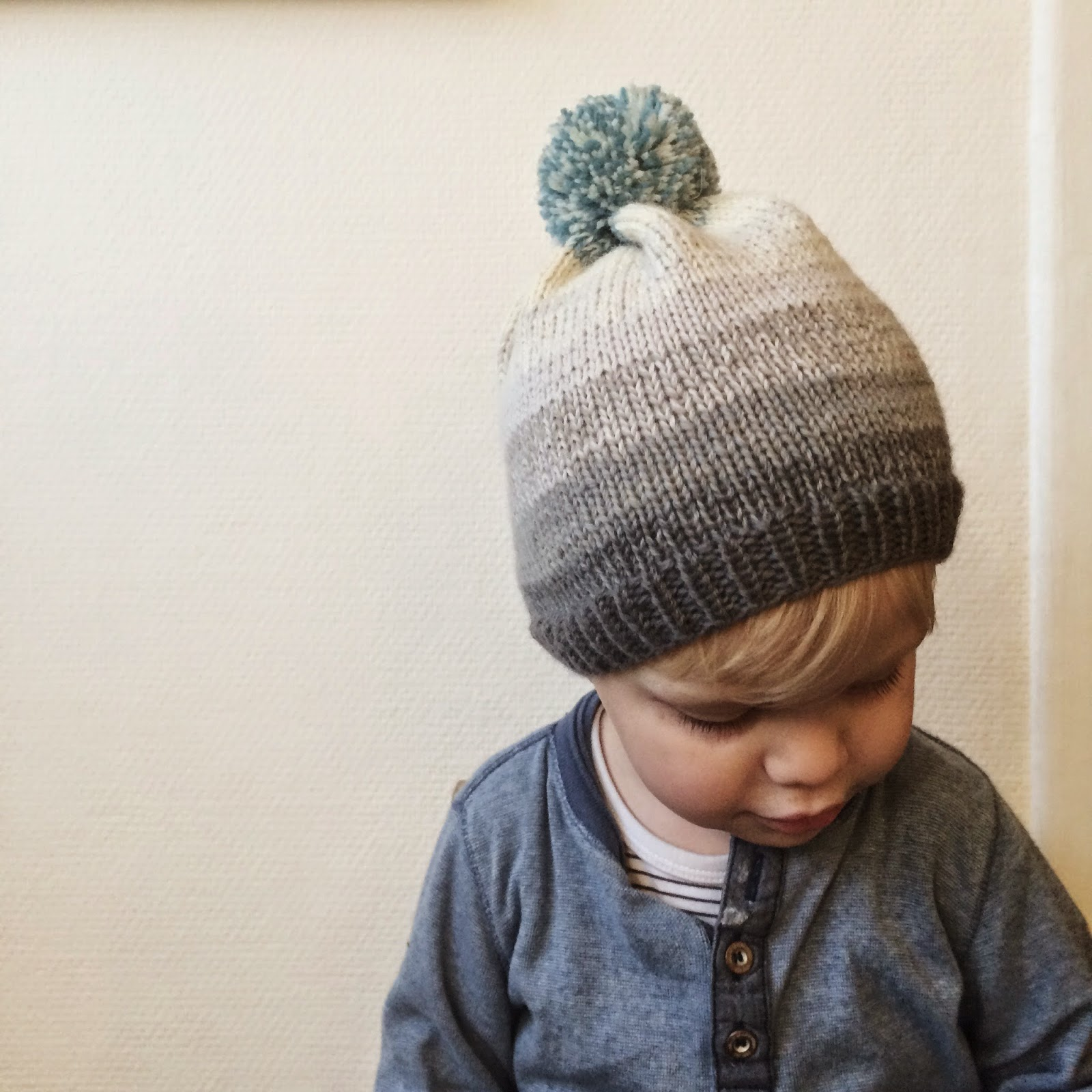 Easy knitting pattern from Meraki; Bobs Beanie