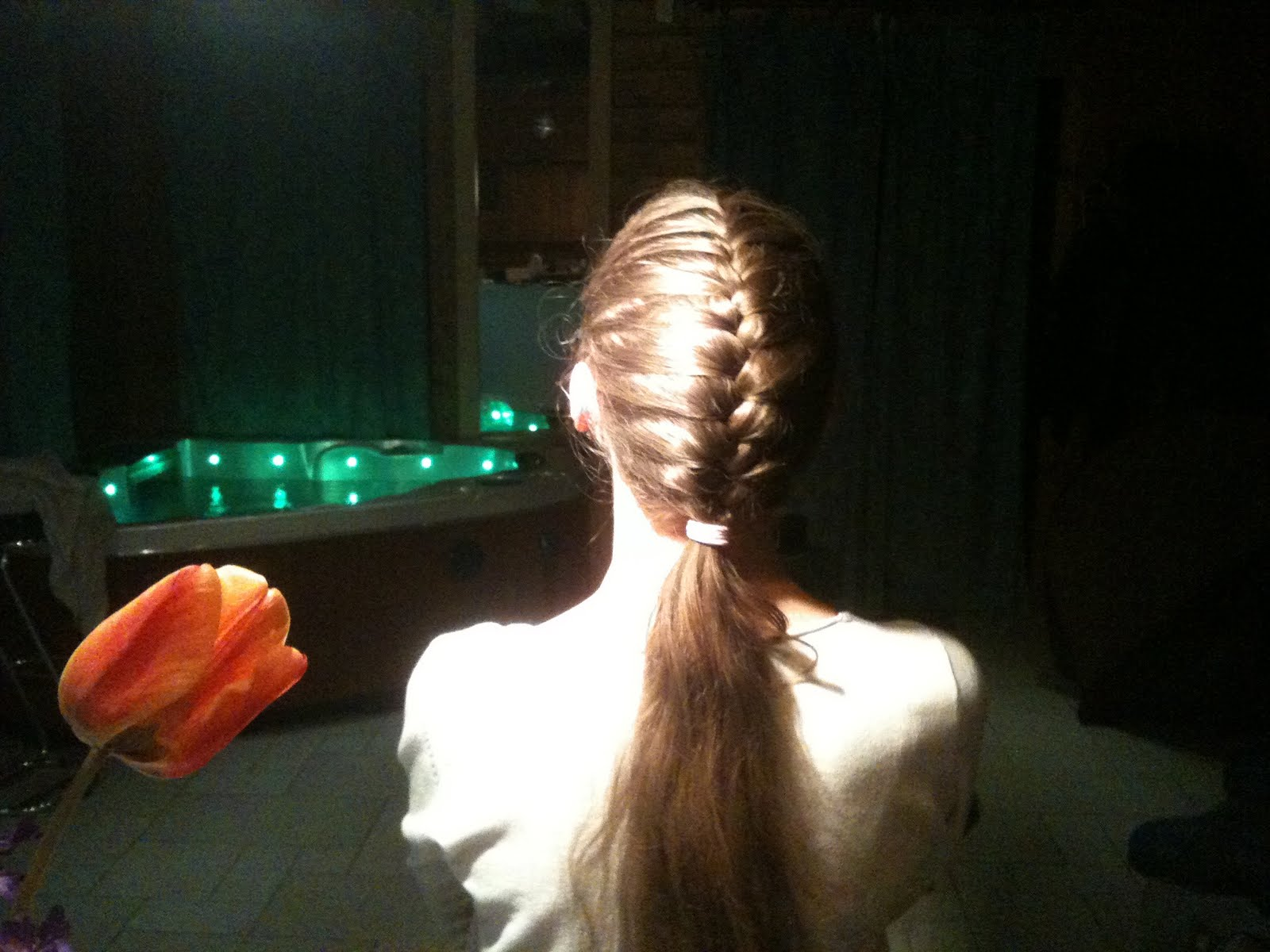 tutoriel : la queue de cheval frend braid coiffure cheveux long ...