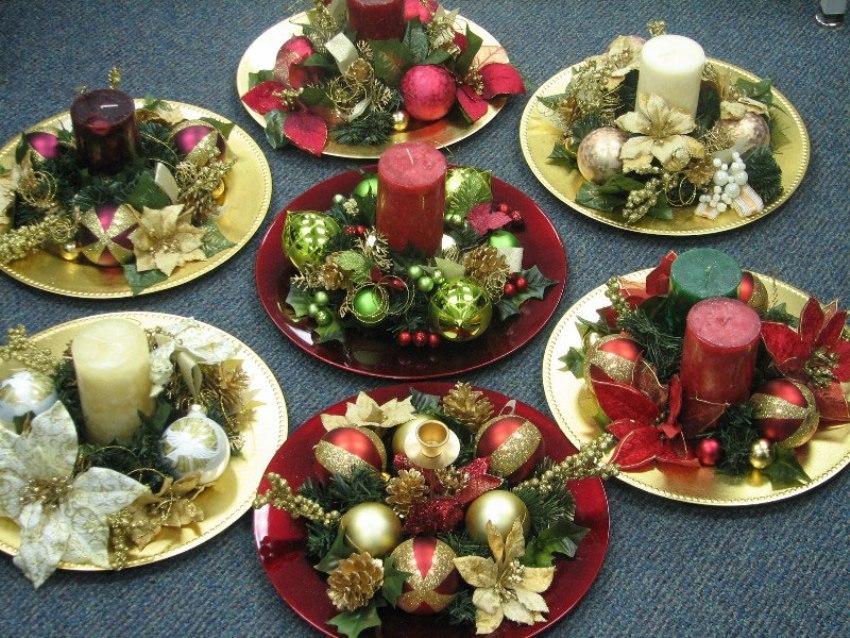 Blog di cinzia bois realizzare un centrotavola natalizio la regola d 39 oro del natale - Centro tavola natalizio con pigne ...