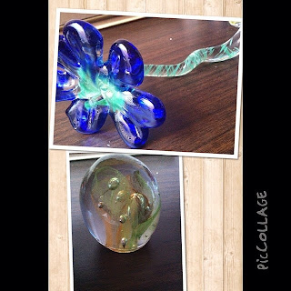 Glass blowing pieces I made