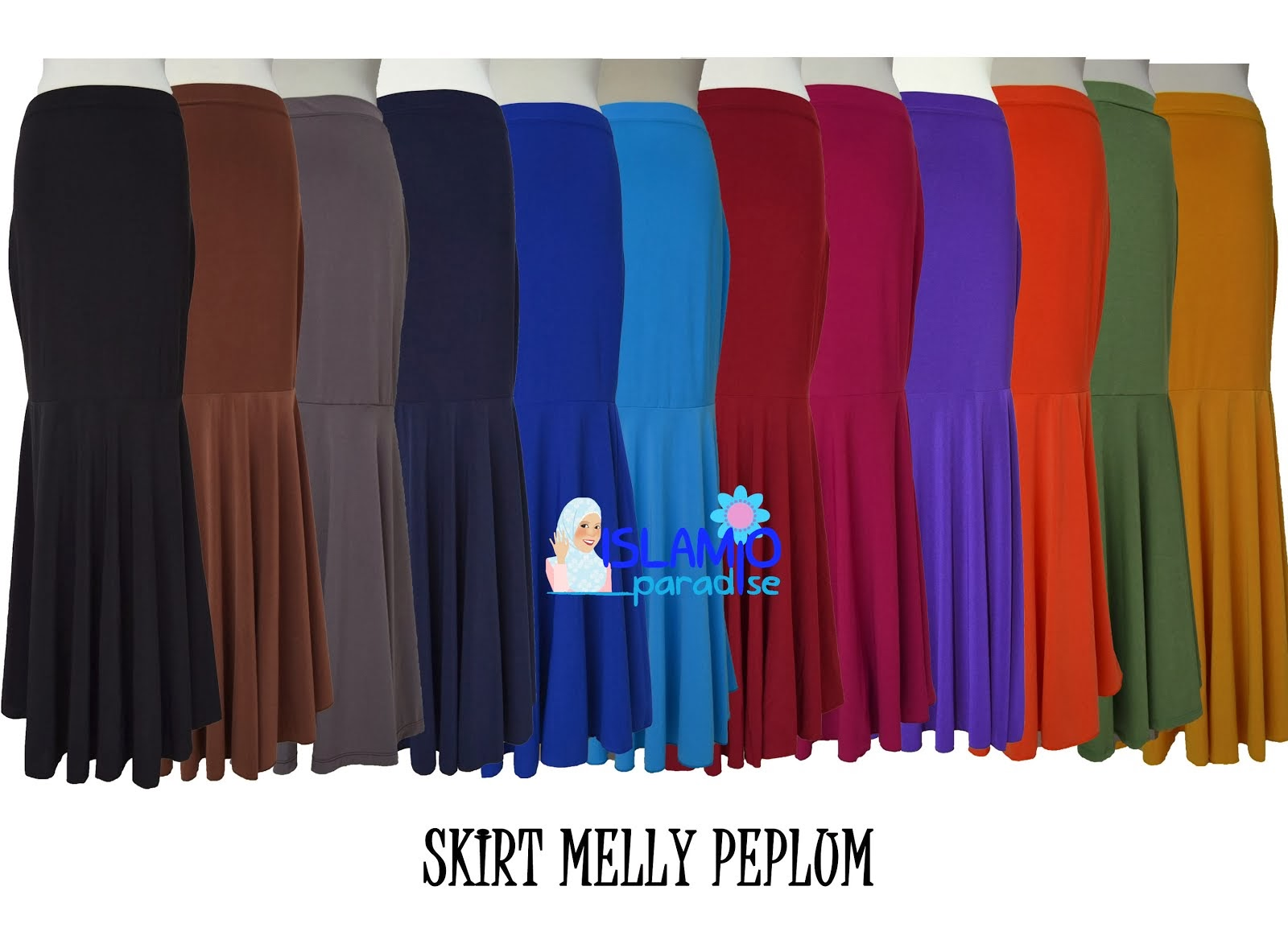 SKIRT MELLY PEPLUM