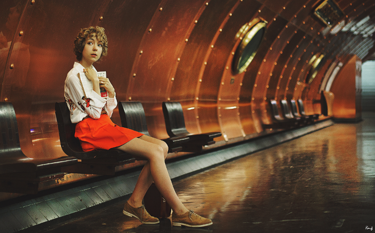 fashion photography, blogger das sheep, outfit of the day, métro Arts et Métiers