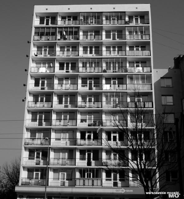 Warszawa warsaw bloki blokowisko b&w cz-b