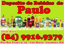 DEPOSITO DE BEBIDAS DO PAULO