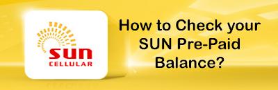 Balance Inquire in SUN