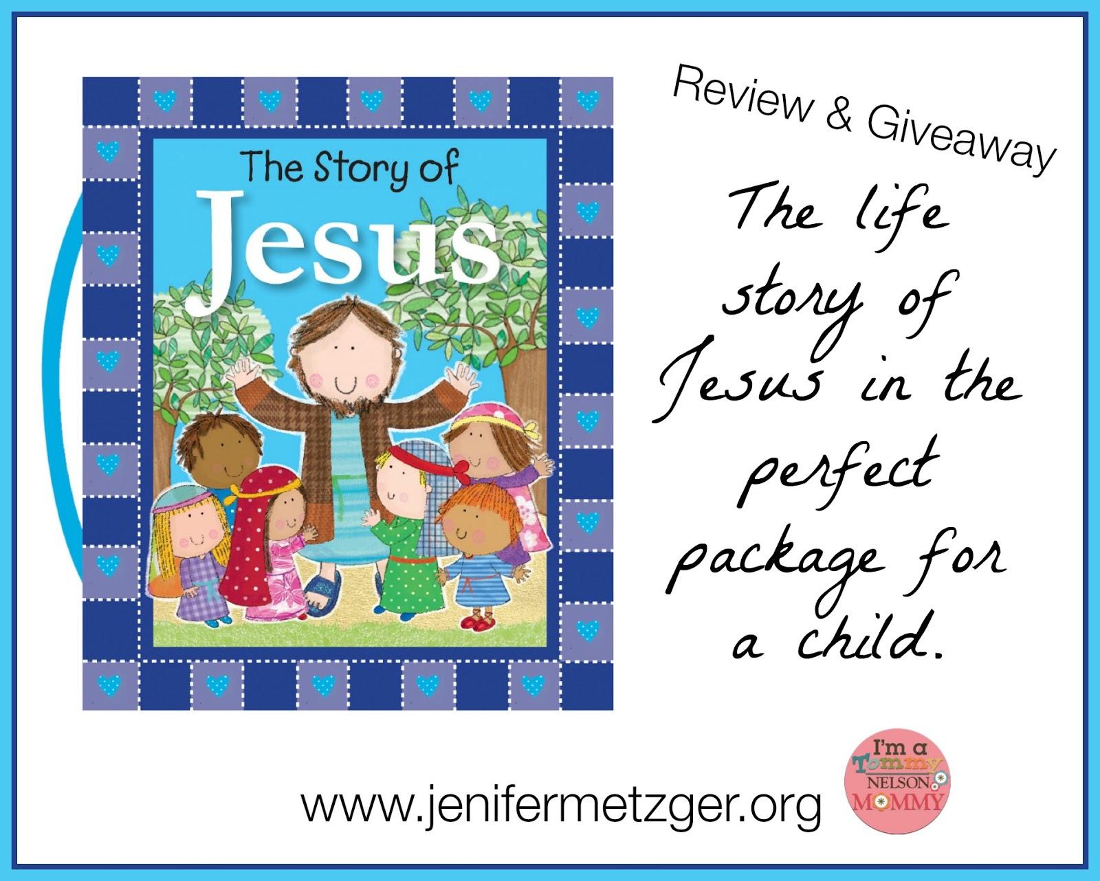 #storyofJesus #children #childrensbook #tommynelson
