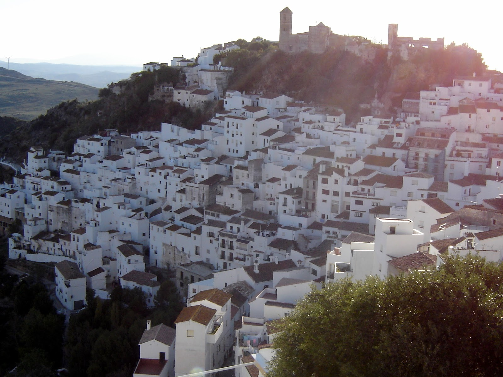 Postcards from Spain: Casares (one of the white towns of Andalusia)
