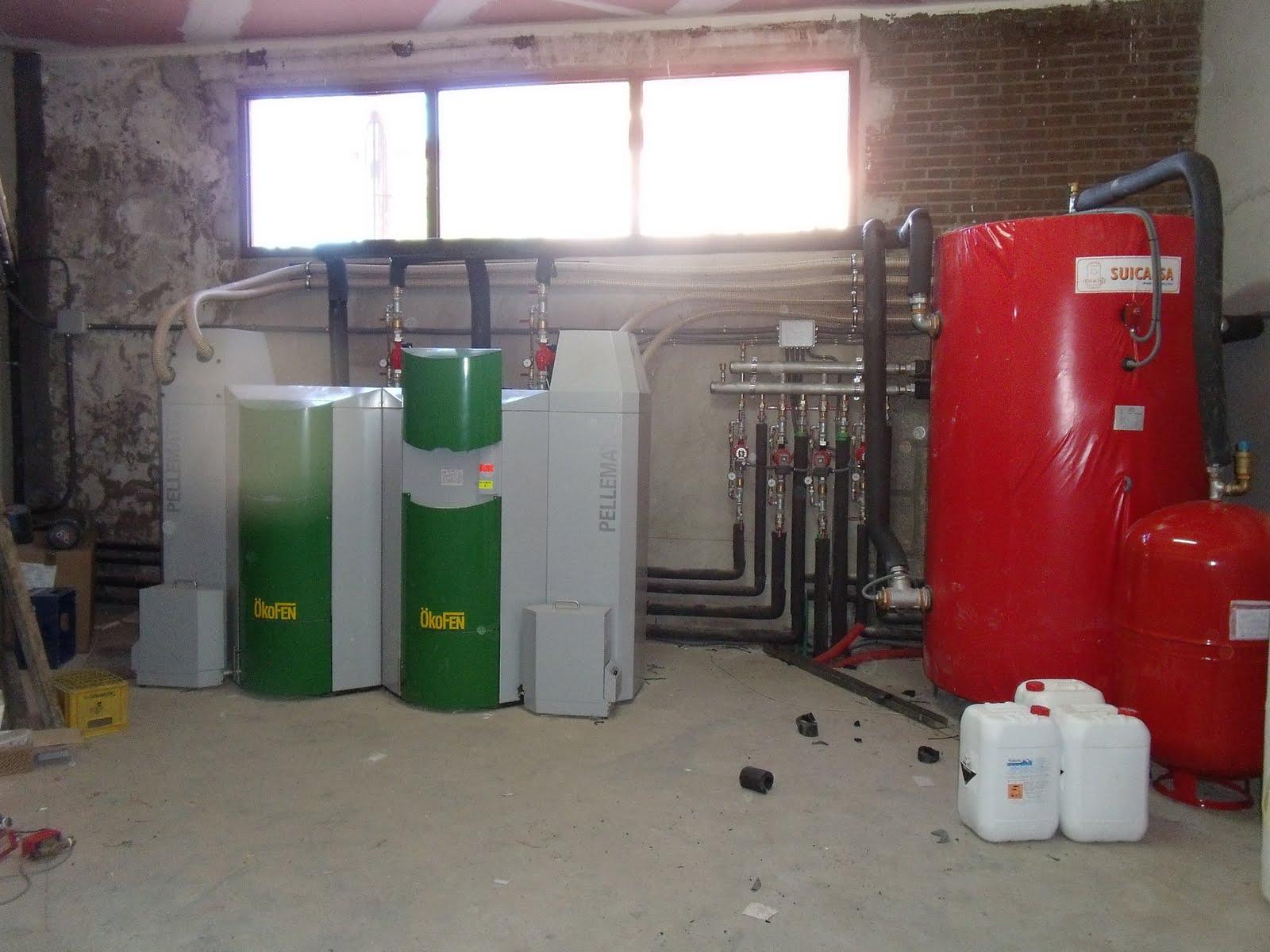 Calderas de biomasa calefaccion por pellet en area de - Calefaccion por pellets ...