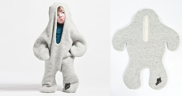 Baby seal outfit for kids