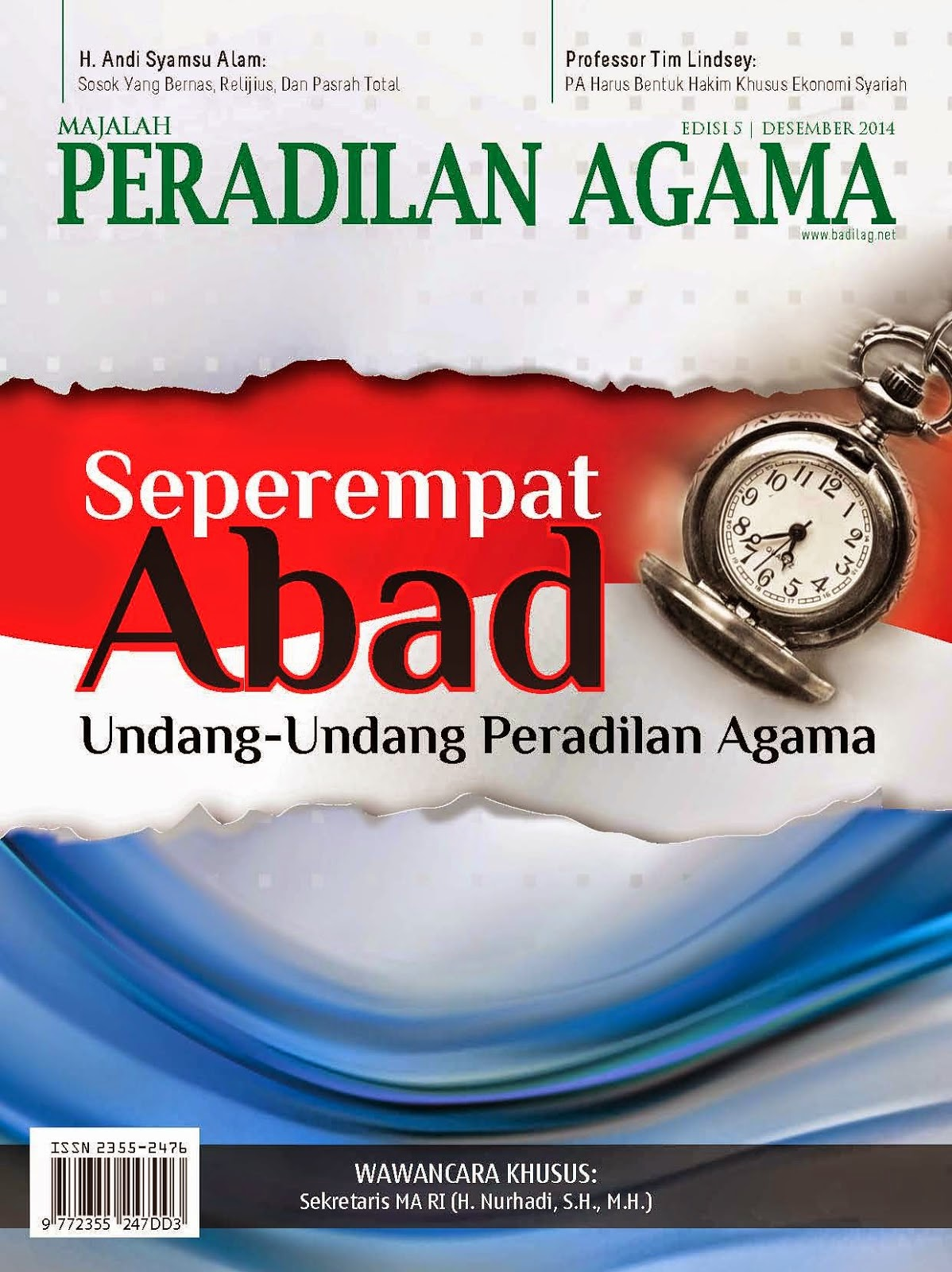Majalah Peradilan Agama Edisi Kelima