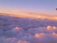 Vuelo de Chiclayo a Lima, un concierto de nubes...