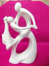 Figuras de Porcelana, Pastel de Bodas.
