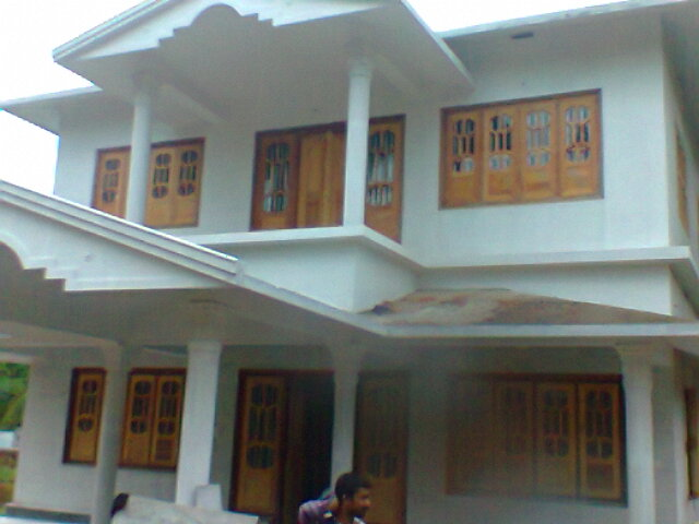Carpenter work ideas and kerala style wooden decor wooden for Wood window designs for homes