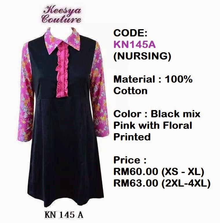 T-shirt-Muslimah-Keesya-KN145A