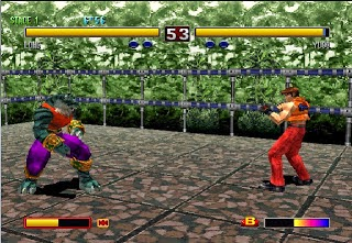 Game Portable Bloody Roar 2