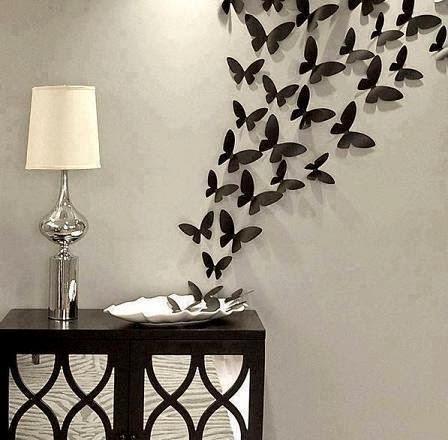 cara mendekorasi dinding dengan kupu-kupu | kumpulan