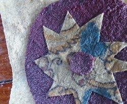 beeswax rag flag mania: button flower