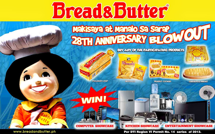 The Makisaya at Manalo sa Sarap na Bread & Butter Promo!