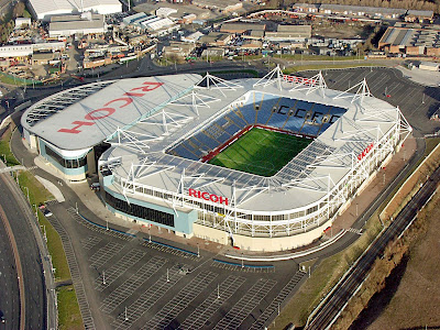 City of Coventry Stadium (Ricoh Arena) Fútbol soccer