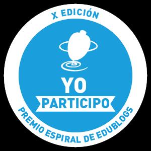 PREMIO ESPIRAL DE  EDUBLOGS 2016