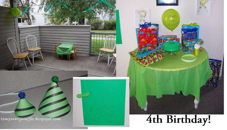 Ninja Birthday Decorations