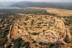 Descubren el palacio suburbano del rey David