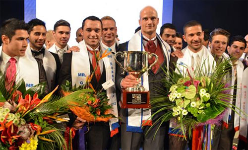 Mr Mister Gay World 2012 winner New Zealand Andreas Andy Derleth