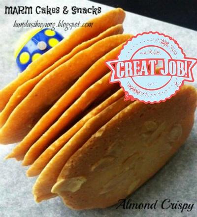 Almond Cookies Resep Cheesy Almond Cookies
