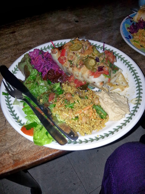 vegan food, vegan burrito, Edinburgh, Scotland