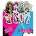 Monster High: Free Printable Original Nuggets or Gum Wrappers.