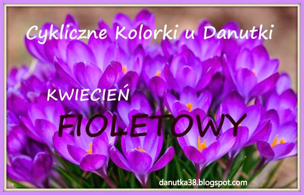 Fioletowy kwiecień