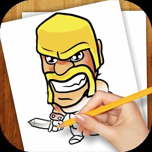 Aplikasi Android Membuat Gambar Clash of Clans