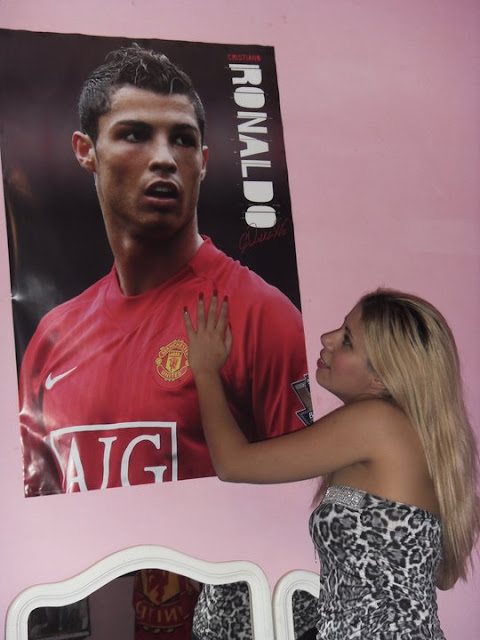 Marika in love with Christiano Ronaldo