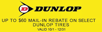 dunlop tire coupon
