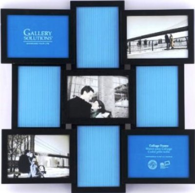 9-Opening Gallery Solutions 3D Collage Frame | 5x7 Collage frames