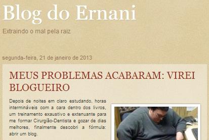 Blog do Ernani Maia, Chapadinha-MA