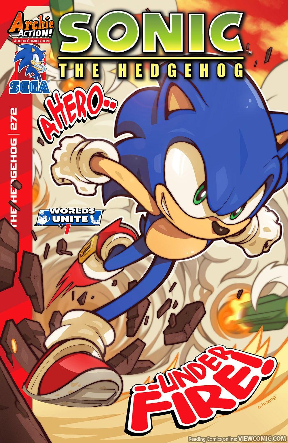 sonic the hedgehog 272 2015 viewcomic reading comics