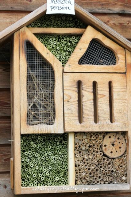 ein schweizer garten wildbienenhotel. Black Bedroom Furniture Sets. Home Design Ideas
