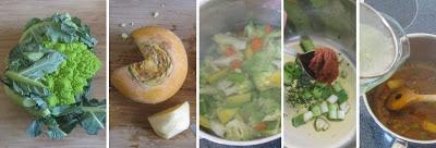 Zubereitung Gemüse-Curry-Crunch