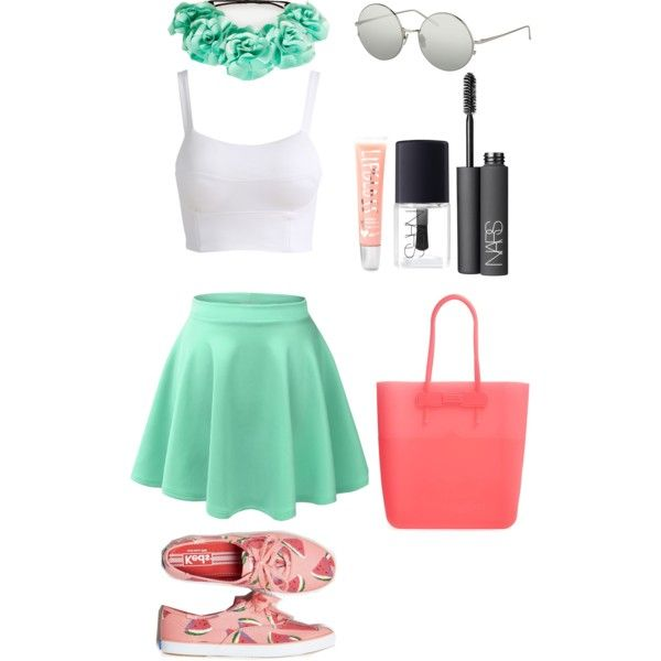 Skater Skirt + Crop Top