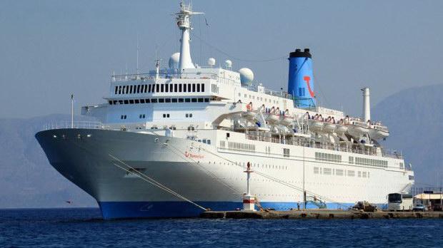 Συνεχίζονται οι αφίξεις κρουαζιερόπλοιων στο λιμάνι της Καβάλας